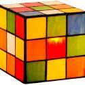 Rubik's Cube Figurine Lamp