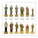 """""""Hitler VS Stalin"""" Themed Chess Set"""